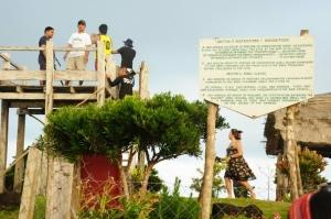 Viewing deck in Mt. Karaboboan