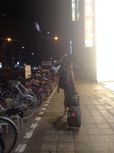 Navigating the streets of Osaka