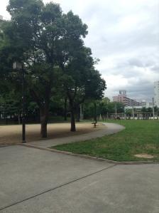 View outside the house of Shigeru and Ayami
