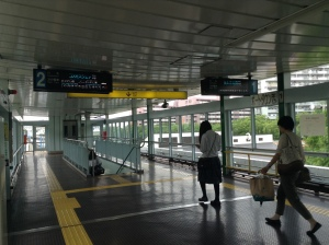 Random photo of the train station at 10 AM