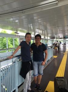 Saying my goodbyes to Shigeru